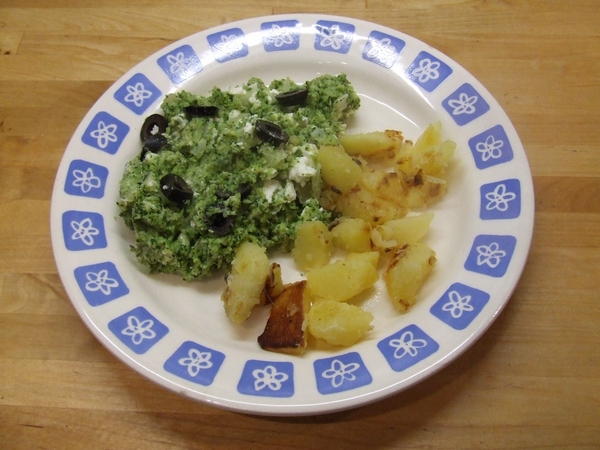 Broccolipuree met knoflook